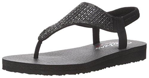Skechers Damen Meditation-Rock Crown Knöchelriemchen Sandalen